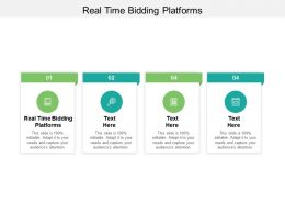 Real Time Bidding Platforms Ppt Powerpoint Presentation Pictures Cpb