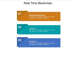 Real Time Blockchain Ppt Powerpoint Presentation File Slide Download Cpb