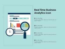 Real Time Business Analytics Icon