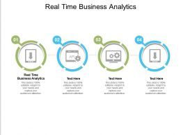Real Time Business Analytics Ppt Powerpoint Presentation Professional Graphics Cpb