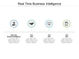 Real Time Business Intelligence Ppt Powerpoint Presentation Gallery Files Cpb
