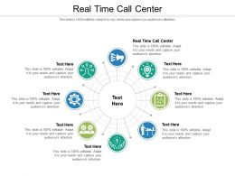 Real Time Call Center Ppt Powerpoint Presentation Model Examples Cpb