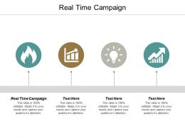 Real Time Campaign Ppt Powerpoint Presentation Ideas Background Designs Cpb