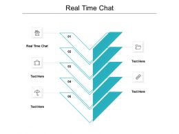 Real Time Chat Ppt Powerpoint Presentation Icon Template Cpb