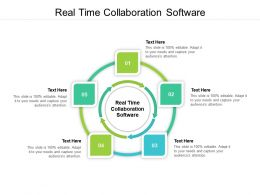 Real Time Collaboration Software Ppt Powerpoint Presentation Inspiration Design Templates Cpb
