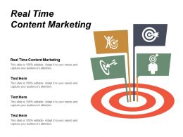 Real Time Content Marketing Ppt Powerpoint Presentation File Pictures Cpb
