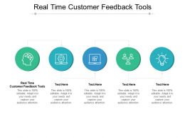 Real Time Customer Feedback Tools Ppt Powerpoint Presentation Outline Cpb