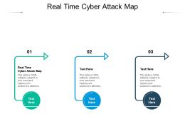 Real Time Cyber Attack Map Ppt Powerpoint Presentation Icon Portfolio Cpb
