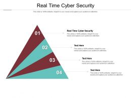 Real Time Cyber Security Ppt Powerpoint Presentation Designs Cpb