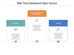 Real Time Dashboard Open Source Ppt Powerpoint Presentation File Graphics Pictures Cpb