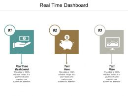 Real Time Dashboard Ppt Powerpoint Presentation Icon Backgrounds Cpb