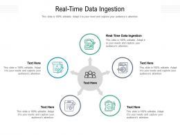 Real Time Data Ingestion Ppt Powerpoint Presentation Slides Portfolio Cpb