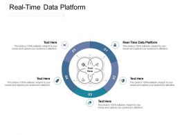Real Time Data Platform Ppt Powerpoint Presentation Icon Model Cpb