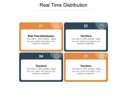 Real Time Distribution Ppt Powerpoint Presentation Infographic Template Shapes Cpb