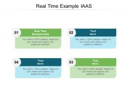 Real Time Example IAAS Ppt Powerpoint Presentation Icon Graphic Images Cpb