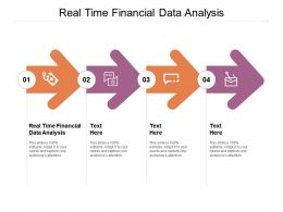 Real Time Financial Data Analysis Ppt Powerpoint Presentation File Gallery Cpb