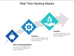 Real Time Hacking Attacks Ppt Powerpoint Presentation Outline Influencers Cpb