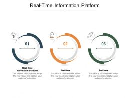 Real Time Information Platform Ppt Powerpoint Presentation Infographic Template Ideas Cpb