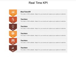 Real Time KPI Ppt Powerpoint Presentation Styles Infographic Template Cpb