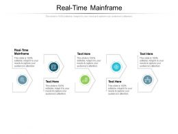 Real Time Mainframe Ppt Powerpoint Presentation Slides Example Cpb