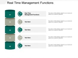Real Time Management Functions Ppt Powerpoint Presentation Summary Layout Cpb