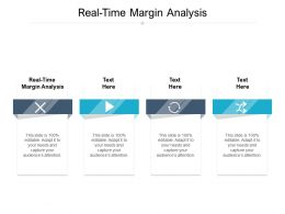 Real Time Margin Analysis Ppt Powerpoint Presentation Icon Display Cpb