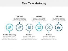 Real Time Marketing Ppt Powerpoint Presentation Gallery Influencers Cpb
