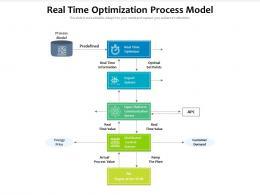 Real Time Optimization Process Model