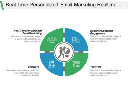 Real Time Personalized Email Marketing Realtime Customer Engagement Cpb