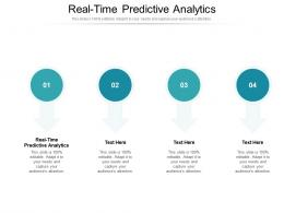 Real Time Predictive Analytics Ppt Powerpoint Presentation Professional Smartart Cpb