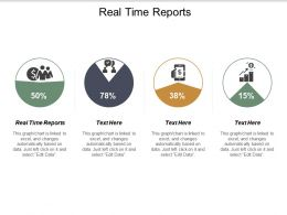 Real Time Reports Ppt Powerpoint Presentation Gallery Introduction Cpb