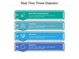 Real Time Threat Detection Ppt Powerpoint Presentation Summary Template Cpb