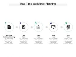 Real Time Workforce Planning Ppt Powerpoint Presentation Inspiration Themes Cpb