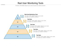 Real User Monitoring Tools Ppt Powerpoint Presentation Icon Maker Cpb