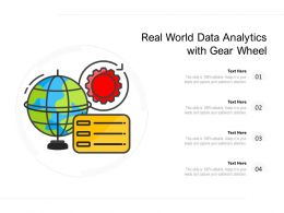 Real World Data Analytics With Gear Wheel