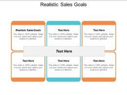 Realistic Sales Goals Ppt Powerpoint Presentation Layouts Slide Portrait Cpb