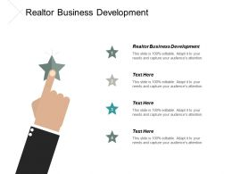 Realtor Business Development Ppt Powerpoint Presentation Portfolio Samples Cpb
