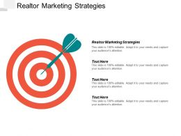 Realtor Marketing Strategies Ppt Powerpoint Presentation Inspiration Skills Cpb