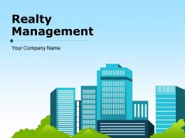 Realty Management Powerpoint Presentation Slides
