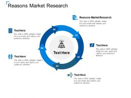 Reasons Market Research Ppt Powerpoint Presentation Slides Professional Cpb