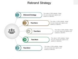 Rebrand Strategy Ppt Powerpoint Presentation Icon Show Cpb