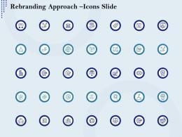 Rebranding Approach Icons Slide Ppt Microsoft