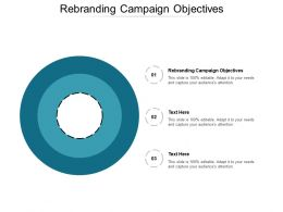 Rebranding Campaign Objectives Ppt Powerpoint Presentation Outline Files Cpb