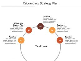 Rebranding Strategy Plan Ppt Powerpoint Presentation Gallery Examples Cpb