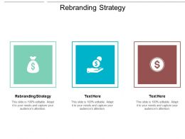 Rebranding Strategy Ppt Powerpoint Presentation Gallery Objects Cpb