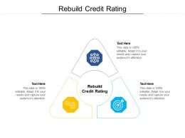 Rebuild Credit Rating Ppt Powerpoint Presentation Summary Ideas Cpb