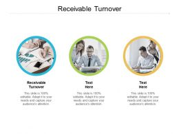 Receivable Turnover Ppt Powerpoint Presentation Summary Shapes Cpb