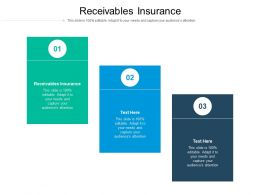 Receivables Insurance Ppt Powerpoint Presentation Portfolio Images Cpb
