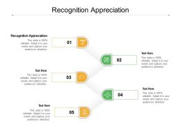 Recognition Appreciation Ppt Powerpoint Presentation Rules Cpb