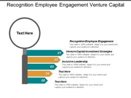 Recognition Employee Engagement Venture Capital Investment Strategies Inclusive Leadership Cpb